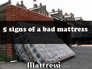 signs of a bad mattress