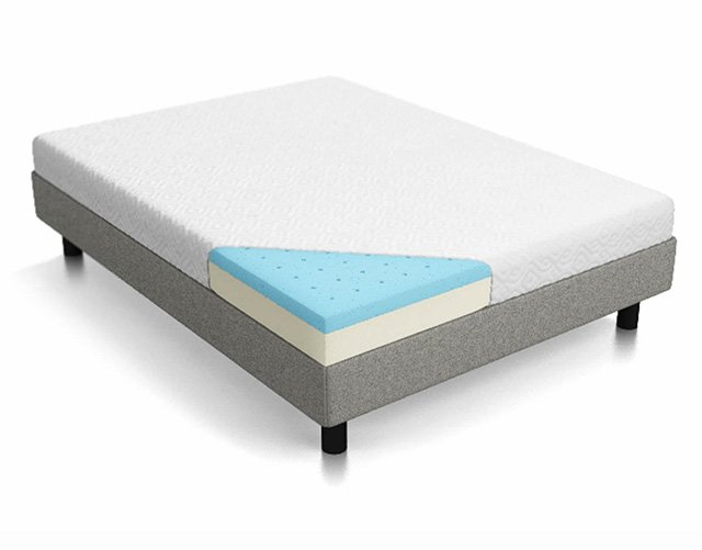 LUCID 8 Inch Firm Memory Foam Mattress Review Mattressi